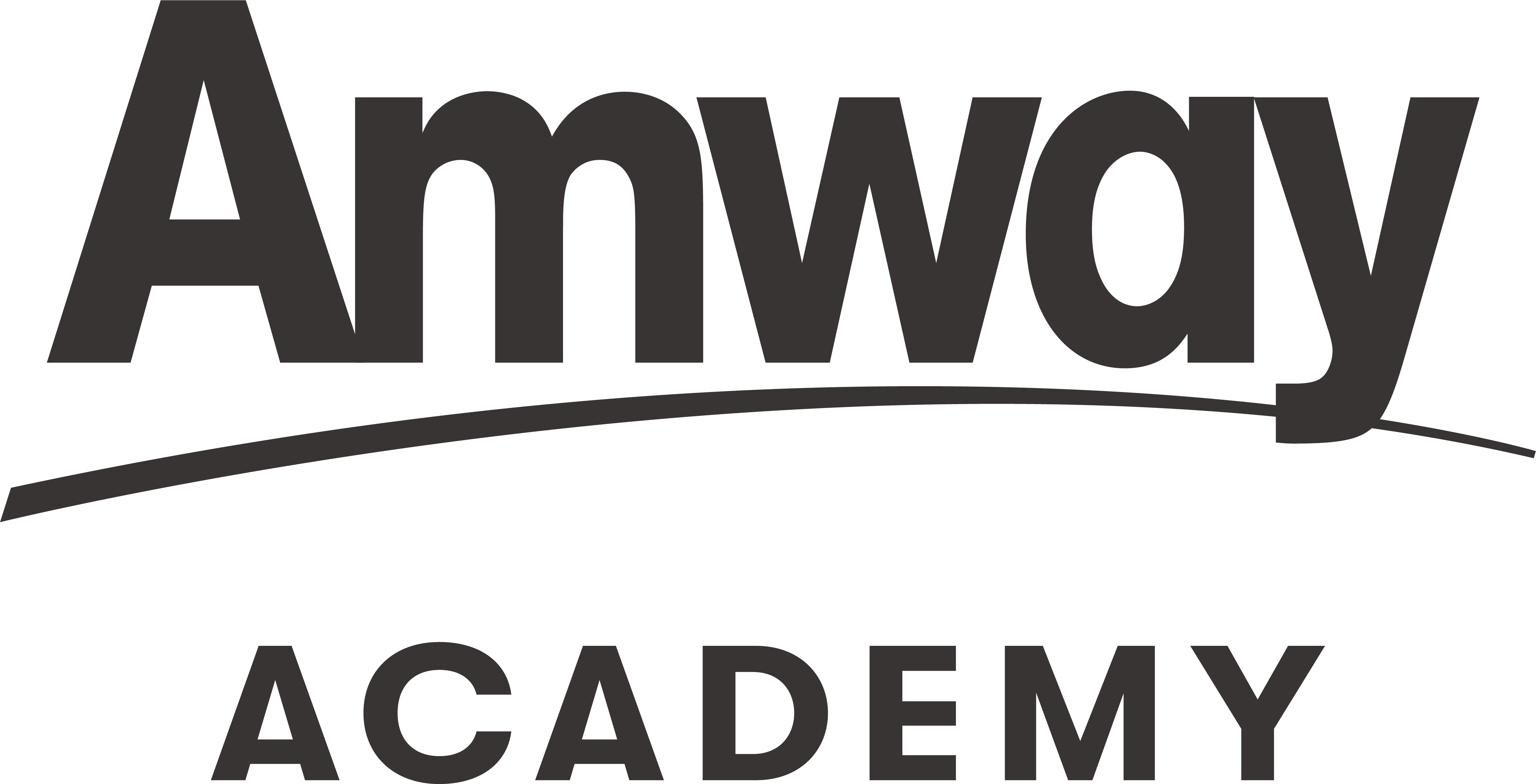 Logo Amway Academy Black Vertical